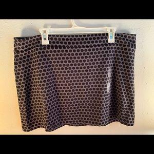 Polka dot Gap Skirt